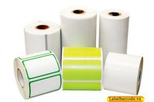giấy decal cuộn in mã vạch