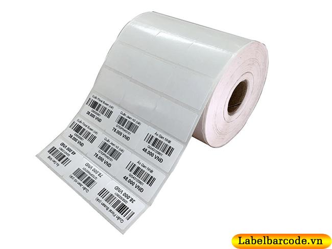 Decal cuộn in tem dán giá sản phẩm