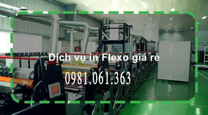 In flexo hiện đại