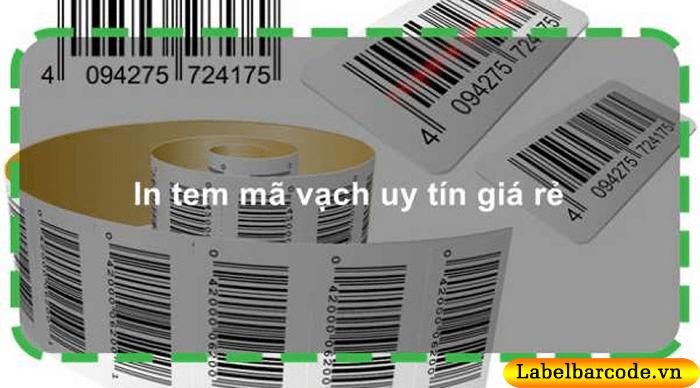 Dịch vụ in tem mã vạch uy tín