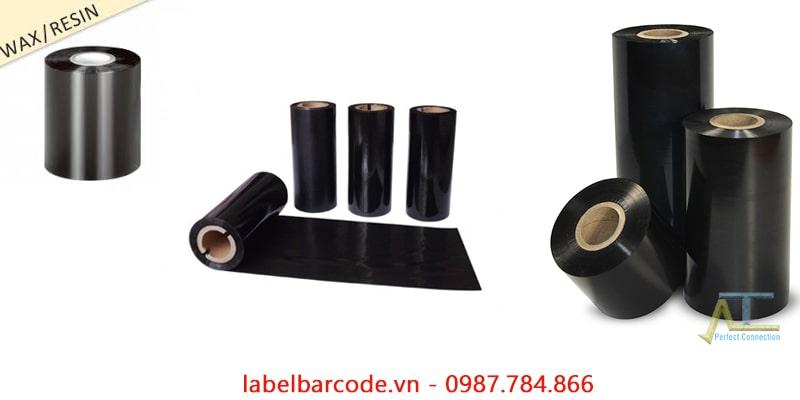 Mực in mã vạch wax resin 110mmx300m